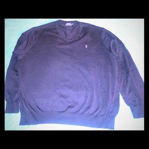 Ralph Lauren Polo v neck sweater mens size xxl